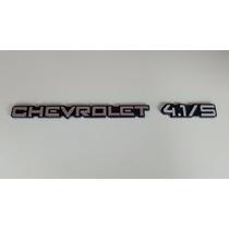 Emblema Chevrolet 4.1/s Cromado P/ Opala E Caravan 91/92