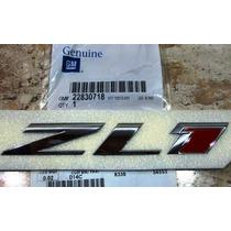 Camaro Zl1 Emblema Z L 1 Capô Original Gm Reposição Unidade