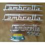 Lambretta - Jogo De Emblemas Para Lambretta.