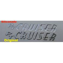 Logo - Letras -emblema Adesivo Siliconado Pt Cruiser