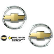 Kit Emblemas Gravata Grade E Mala Kadett E Ipanema + Brinde
