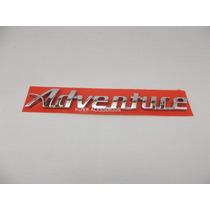 Emblema Adventure Palio Strada Dobló Idea Cromado
