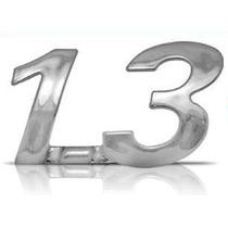 Emblema Fiat 1.3 Cromado