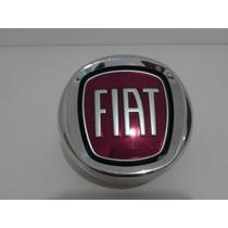 Emblema Maçaneta Tampa Traseira Strada Original Fiat
