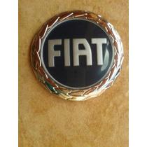 Emblema Logo Fiat Azul Grade Palio G3 2004 A 2006