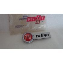 Emblema Grade Fiat 147 Rallye Europa Frontal Escudo Vermelho