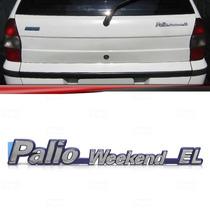 Emblema Porta Malas Fiat Palio Weekend El 96 97 98 99 2000