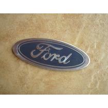 Emblema Ford Oval Grade Mala Corcel Del Rey Escort Ate 92