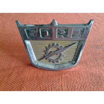 Emblema Frontal Do Capô Ford Brasileiro F-100 F-350 65/68
