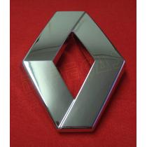 Emblema Renault Da Grade Dianteira Original Renault