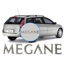 Letreiro Megane Cromado Para Traseira Renault Megane
