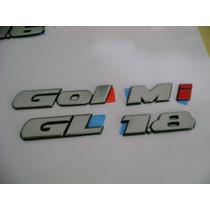 Emblemas Ou Logotipos Gol Gl 1.8 Mi Originais Vw