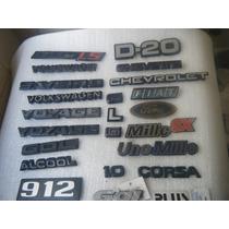 Emblema Volks Fiat Chevrolet Ford Original E Paralelo