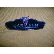 Emblema Lateral Karmann-guia Carro Antigo Woksvagem