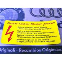 Etiqueta Cuidado Ignição - Fusca - Original Vw Nova