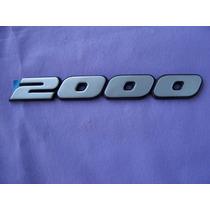 Gol Gti-90/94-santana Emblema Traseiro 2000