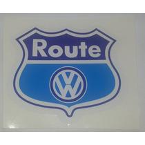 Emblema Adesivo Route 66 Fox E Spacefox E Linha Volkswagen