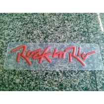 Emblema Do Fox Rock In Rio Vermelho