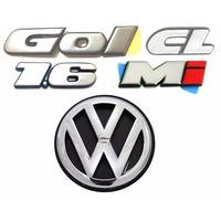 Emblemas Gol Bola Cl 1.6 Mi + Vw Da Mala - Modelo Original