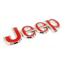 Emblema Jeep Cherokee Wrangler Willys Metal !!!