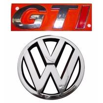 Emblema Gol G3 Gti + Vw Grade - Geração 3 - Modelo Original