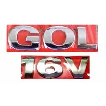 Emblema Gol G3 + 16v - Geração 3 - Modelo Original