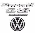 Emblemas Volkswagen Parati Quadrada Cl 1.8 - Kit Com 5 Itens