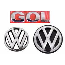 Emblema Gol G3 + Vw Grade E Mala Geração 3 - Modelo Original