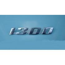 Emblema 1300 Vw Fusca 1300 Novo Metal Cromado Unitário