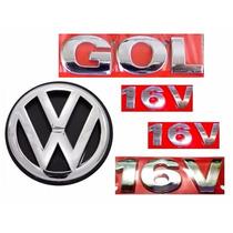 Emblema Gol G3 + 16v + Vw Mala - Geração 3 - Modelo Original