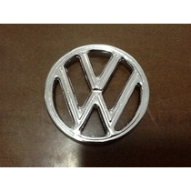 Emblema Do Capo Do Fusca Em Metal Replica Do Original Vw