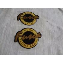 Par Emblemas Fusca Serie Ouro 1996 Peças De Epoca