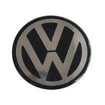 Kit De 4 Emblemas Volkswagem 90mm Para Rodas Ou Calotas