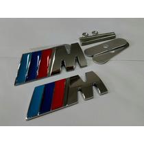 Kit Emblemas M Grade E Traseira Bmw 116i 118i 120i 320i 325i