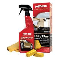 Kit - Clay Bar System - Barra Argila+showtime+flan - Mothers