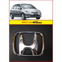 Emblema Da Grade Honda Fit 2004/2005/2006 Original Honda