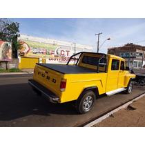 Caçamba Original F75 Willys Rural Em Fibra De Vidro Réplica