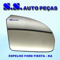 Espelho Fiesta Ka Retrovisor Ford Fiesta Ka