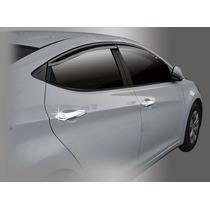 Capa Cromada Maçaneta Hyundai Elantra (10 Peças)
