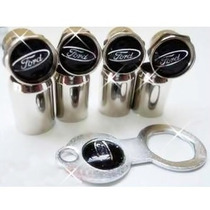 Bico Pneu/roda Cromado Ford Focus Fiesta Fusion Ecosport Blk