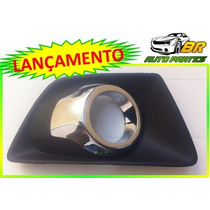 Moldura Farol De Milha Cromada Ford Ecosport 2013 2014