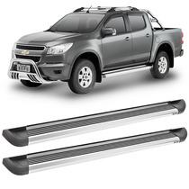 Estribo Alumínio Para Nova Pickup Chevrolet S10 Cabine Dupla