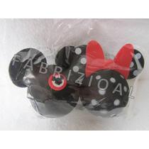 Mickey Disney E Minie Bolinha Enfeite Antena Carro Original