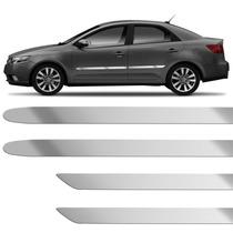 Friso Cromado Lateralvectra Stilo Corolla Civic 4p Universal