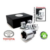 Anti Furto De Rodas + Estepe Externo - Toyota Rav 4 *kit 5+1