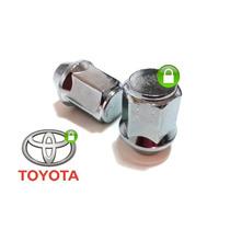 Porca De Roda Cromada Toyota Hilux,..(c/24 Peças)
