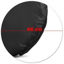 Capa Protetora De Pneu Roda 66cm Anti Xixi Impermeável Preta