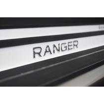 Estribo Personalizado Nova Ranger Cab Dupla Branco Artico