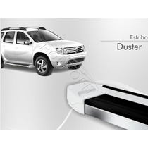 Estribo Renault Duster 2013 2014 2015 Branco Glacier