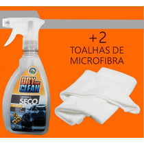 Limpeza A Seco Lava E Encera 500ml + 2 Toalha De Microfibra
